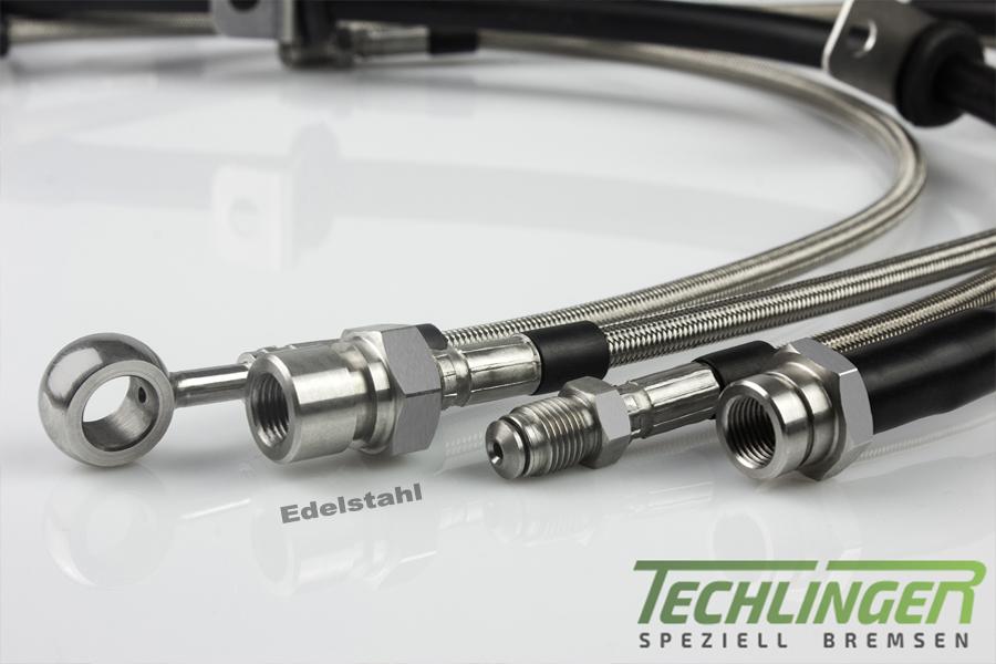 Für Subaru Impreza GR,GH Stahlflex Bremsschläuche Bremsleitungen